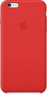 Чехол-накладка Apple iPhone 6 Plus Leather Case MGQY2 (красный) - общий вид