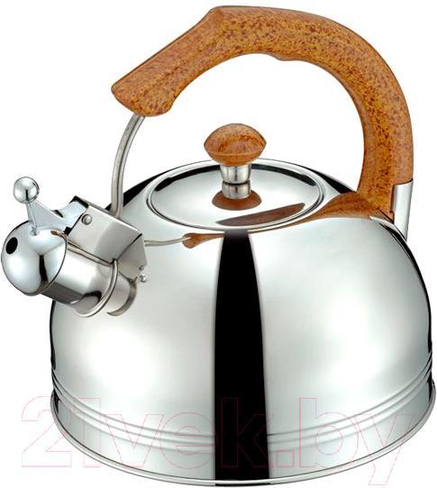 Купить Чайник со свистком Peterhof, SN-1405, Китай, нержавеющая сталь