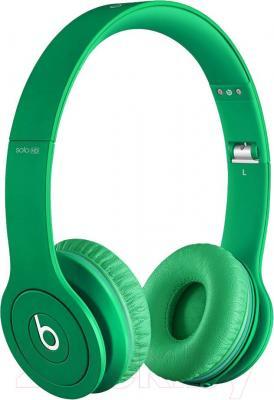 Наушники Beats Solo HD (Green) - общий вид