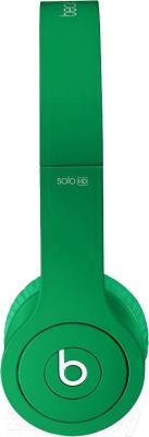 Наушники Beats Solo HD (Green) - вид сбоку