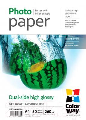 Бумага/материал для печати ColorWay PGD260050A4 - общий вид