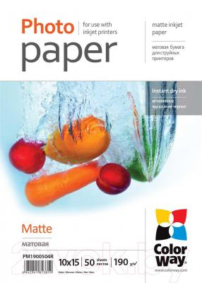 Бумага/материал для печати ColorWay PM1900504R - общий вид