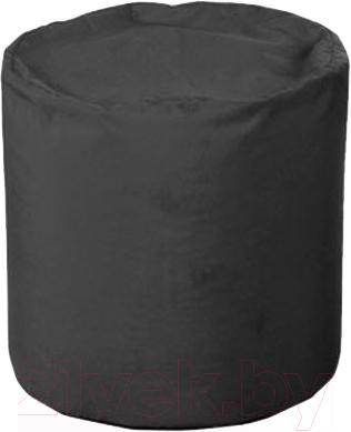 Пуфик Baggy Цилиндр (черное) - общий вид
