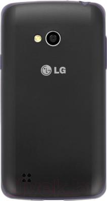 Смартфон LG L50 Dual (D221) (Black-Blue) - вид сзади