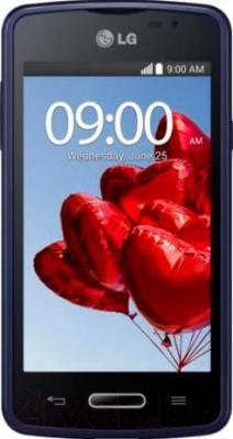 Смартфон LG L50 Dual (D221) (Black-Blue) - общий вид