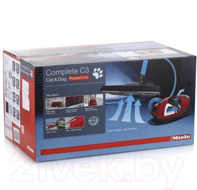 Пылесос Miele SGEA0 Complete C3 Cat&Dog (Blackberry Red)