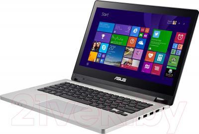 Ноутбук Asus Transformer Book Flip TP300L (TP300LD-C4048D) - вполоборота