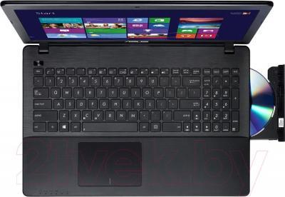 Ноутбук Asus X552MD-SX017D - вид сверху