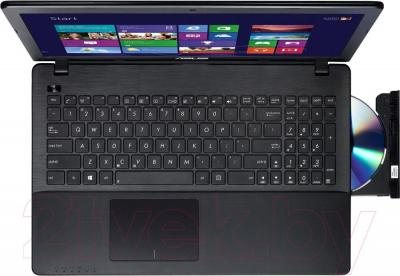Ноутбук Asus X552MD-SX068D - вид сверху