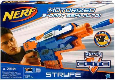 Бластер игрушечный Hasbro NERF N-Strike Elite Stryfe (A0200) - упаковка