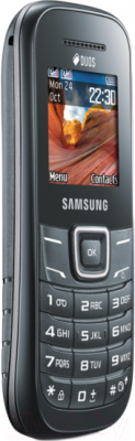 Мобильный телефон Samsung E1202 (серый) - вполоборота