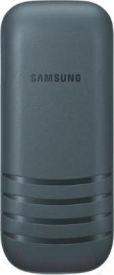 Мобильный телефон Samsung E1202 (серый) - вид сзади
