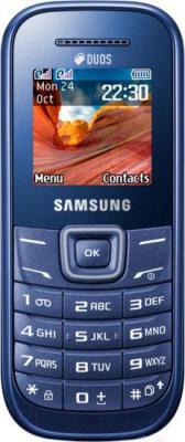 Мобильный телефон Samsung E1202 (синий) - общий вид