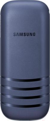 Мобильный телефон Samsung E1202 (синий) - вид сзади