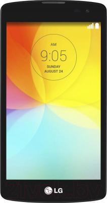 Смартфон LG L70+ L Fino / D290n (черно-белый) - общий вид