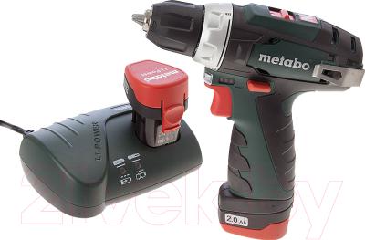 Профессиональная дрель-шуруповерт Metabo PowerMaxx BS Basic (600080500)