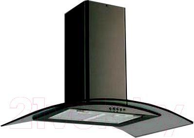 Вытяжка купольная Backer QD90A-G6L160T (д.о. 200W, черный/темное стекло) - общий вид