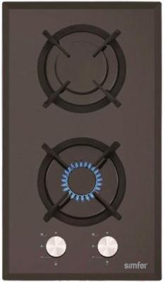 Газовая варочная панель Simfer H30N20B501 (H 3201 NGSB) - общий вид