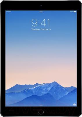 Планшет Apple iPad Air 2 16Gb / MGL12TU/A (серый) - фронтальный вид