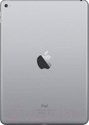 Планшет Apple iPad Air 2 16Gb / MGL12TU/A (серый) - вид сзади