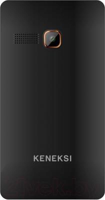 Мобильный телефон Keneksi M2 (черный) - вид сзади