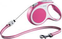 Поводок-рулетка Flexi Vario 12036 (M, розовый) -