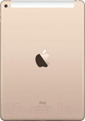 Планшет Apple iPad Air 2 16Gb 4G / MH1C2TU/A (золото) - вид сзади