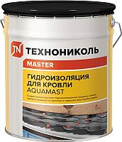 Гидроизоляционная мастика Технониколь AquaMast битумно-резиновая (18кг) -