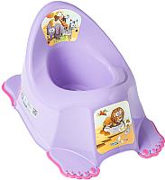 Детский горшок Tega Сафари / SF-011-128 (фиолетовый) -