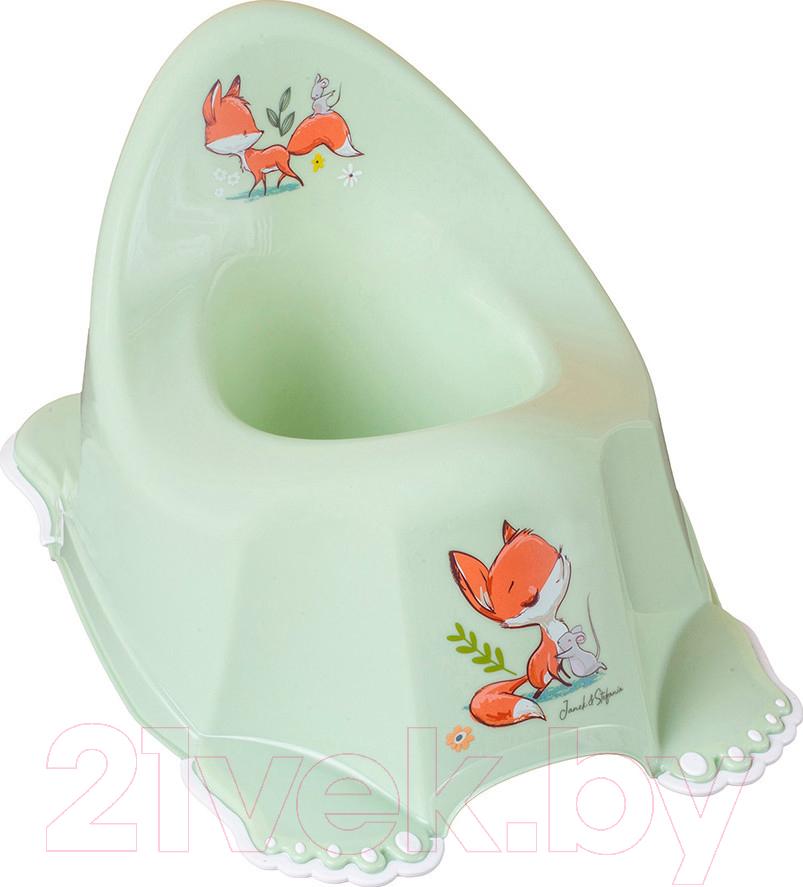 Купить Детский горшок Tega, Лесная сказка / FF-001-112 (салатовый), Польша, пластик