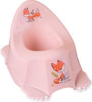 Детский горшок Tega Лесная сказка / FF-001-107 (светло-розовый) -