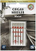 Иглы для швейной машины Organ 5/90-100 (для металлизированной нити) -