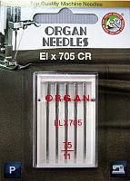 Иглы для швейной машины Organ Elx705 CR 5/75 -