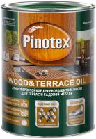 Масло для древесины Pinotex Wood&Terrace Oil База (1л) -