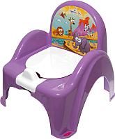 Детский горшок Tega Сафари / SF-010-128 (фиолетовый) -