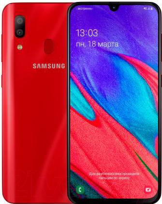Купить Смартфон Samsung, Galaxy A40 2019 / SM-A405FZRGSER (красный), Китай