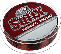 Леска монофильная Sufix Feeder Mono 0.28мм / SFM28BU300 (300м, красный) -