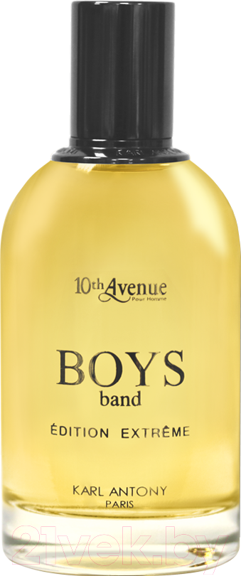 Купить Туалетная вода Jean Jacques Vivier, 10th Avenue Boy`s Band Edition Extreme (100мл), Франция