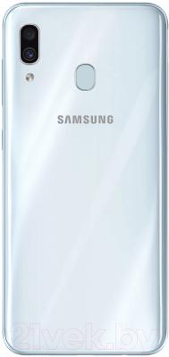 Смартфон Samsung Galaxy A30 64GB 2019 / SM-A305FZWOSER (белый)