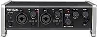 Аудиоинтерфейс Tascam US-2x2 USB -