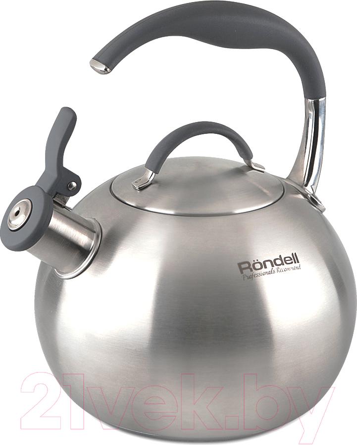 Купить Чайник со свистком Rondell, RDS-495, Китай, черный