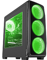 Корпус для компьютера GENESIS Titan 750 Green Midi / NPC-1127 -