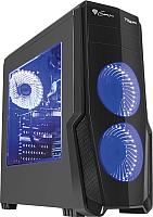 Корпус для компьютера GENESIS Titan 800 Blue Midi / NPC-1129 -