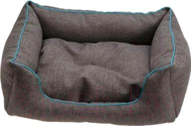 Купить Лежанка для животных Comfy, Emma Melange большой / 121539 (бирюзовый/синий), Польша
