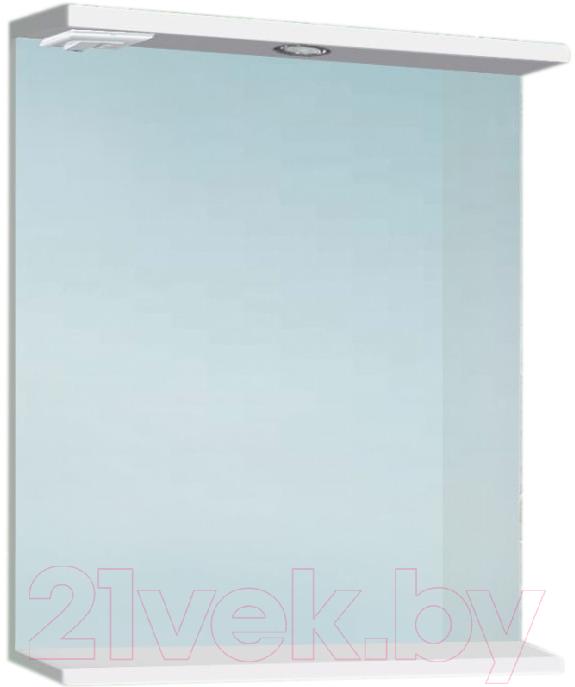 Купить Шкаф с зеркалом для ванной Vako, 80 / 12257 (с подсветкой), Россия