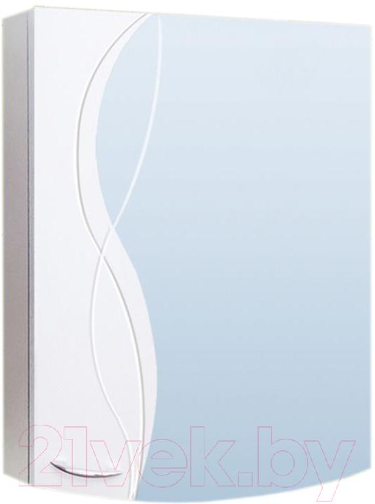 Купить Шкаф с зеркалом для ванной Vako, Елена 55 / 10772, Россия