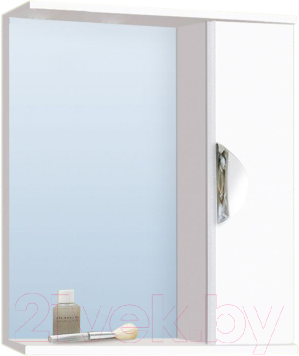 Купить Шкаф с зеркалом для ванной Vako, Ника 60 / 11697, Россия