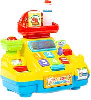 Касса игрушечная Полесье Кассовый аппарат для супермаркета / 77073 -