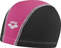 Шапочка для плавания ARENA Unix 9127822 (black/pink) -
