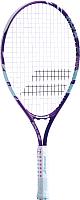 Теннисная ракетка Babolat B'FLY 23 Gr000 7-9лет / 140244 (фиолетовый/бирюзовый) -